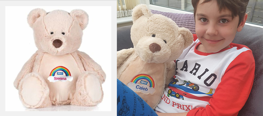 Recognition Express NHS Teddy Bear Initiative to Raise Funds for Local NHS Charities